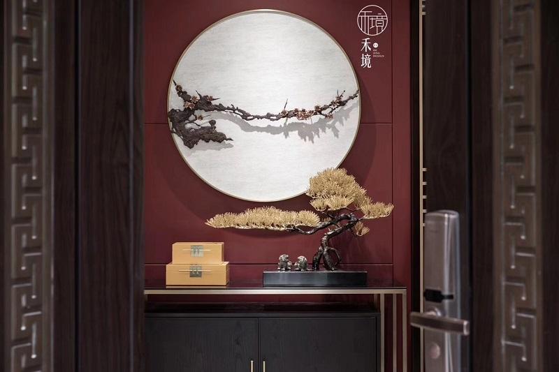 上海保亿风景水岸高端别墅家具案例