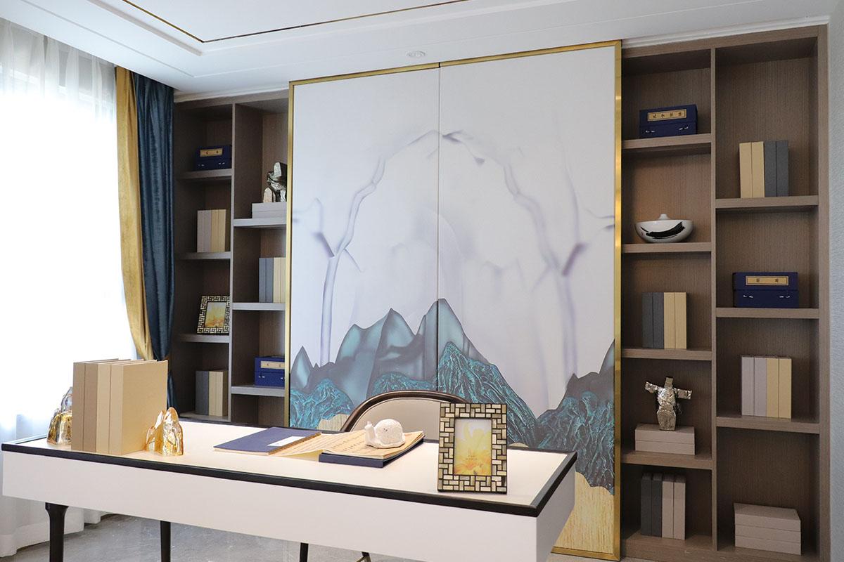 天福山河观邸样板房家具案例