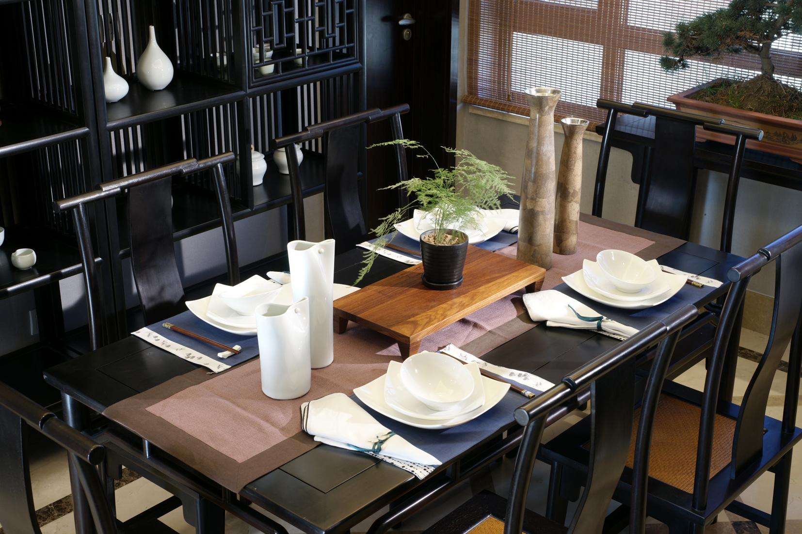 天鹅湾私人中式会所家具案例