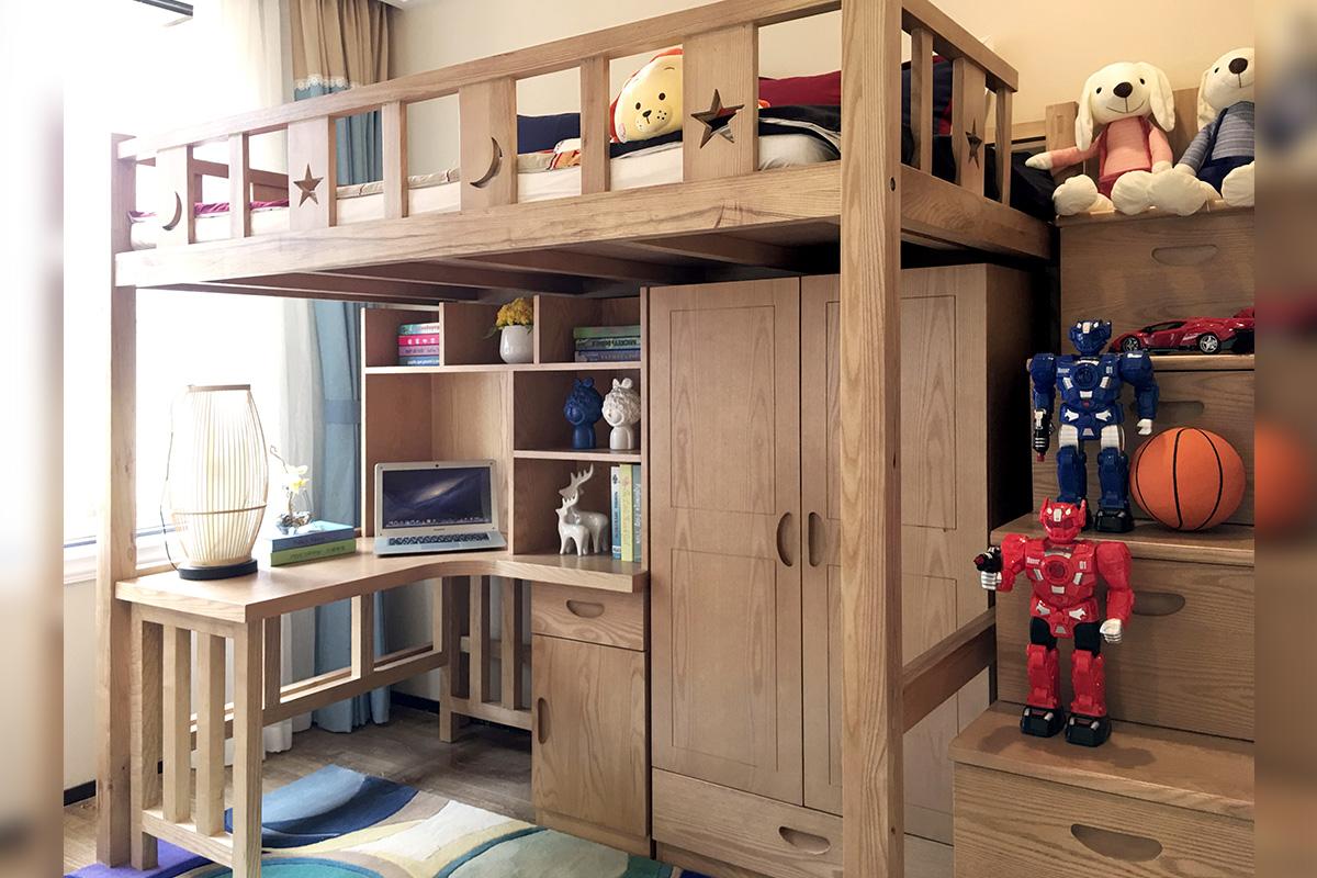 贵州新中式样板房家具案例