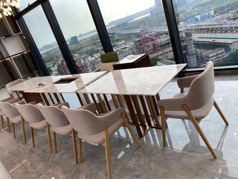 前海香江金融中心办公家具案例
